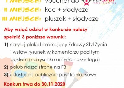 """KONKURS """"ZDROWY STYL ŻYCIA"""""""